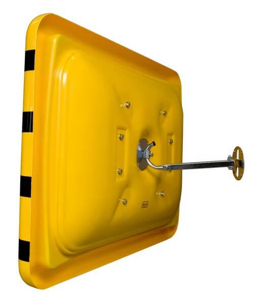 lustro check point z mocowaniem