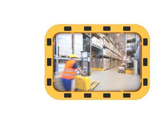 Lustro przemysłowe EUvex prostokątne