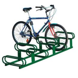 Stojak rowerowy dwupoziomowy 6 miejsc