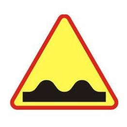 Znak A-11 Nierówna droga