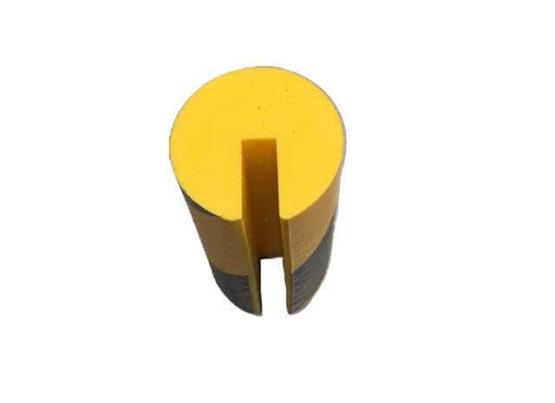Profil ostrzegawczy żółto czarny typ B