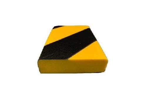 Profil ostrzegawczy żółto czarny typ F