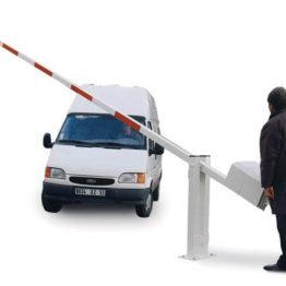 szlaban parkingowy