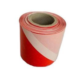 taśma ostrzegawcza biało czerwona 100m