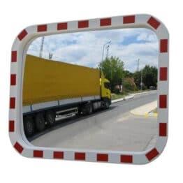 Lustro drogowe prostokątne 40 x 60 cm